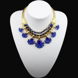 Ogrlica DALIA ROYAL BLUE