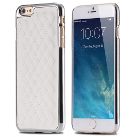I PHONE 6 COVER COCO STYLE WHITE SILVER